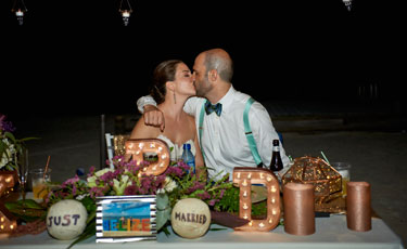 Kelli+Dominic: Formal Island Wedding