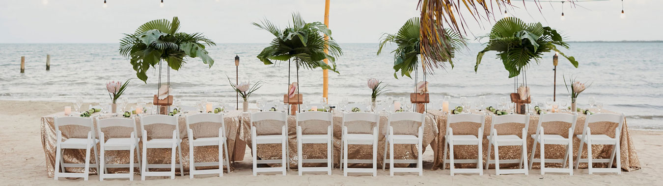 Belize Destination Wedding - Beach
