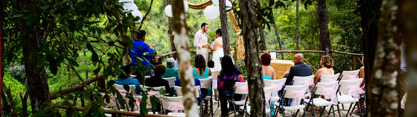 Belize Destination Wedding - Jungle